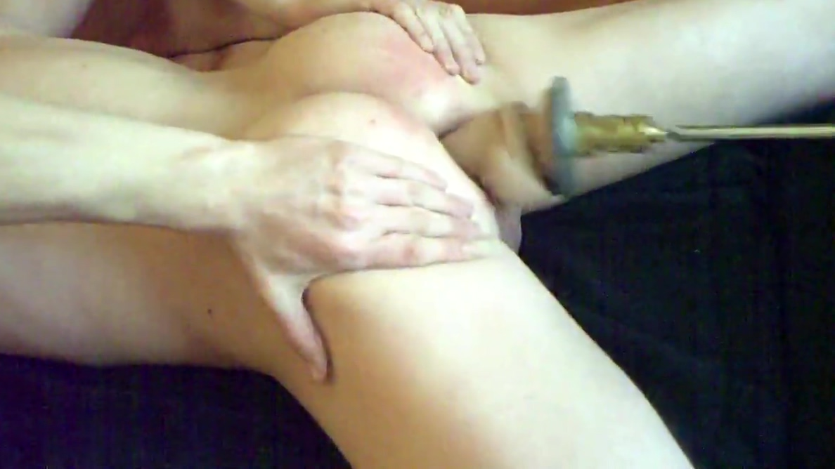 Home made fuckmachine Naked dark black women butt