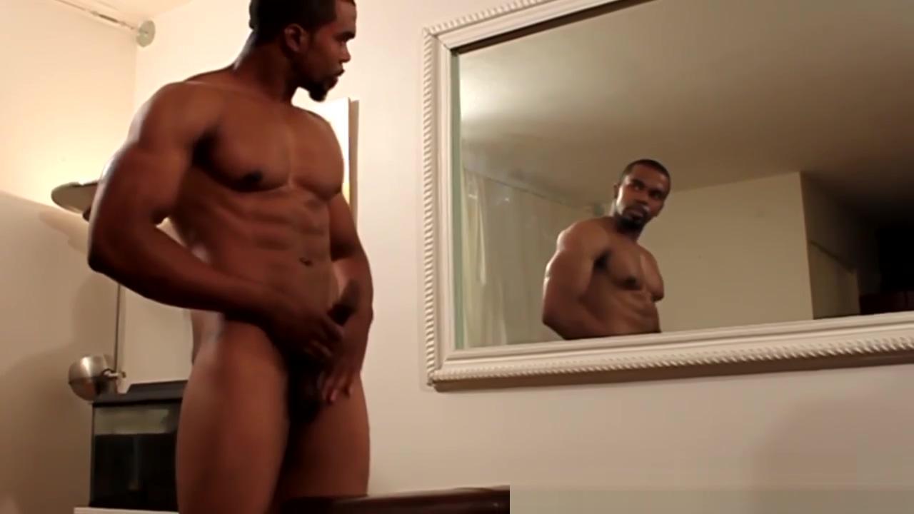 Masturbating ebony hunk drops creamy load Kitten webcam pussy