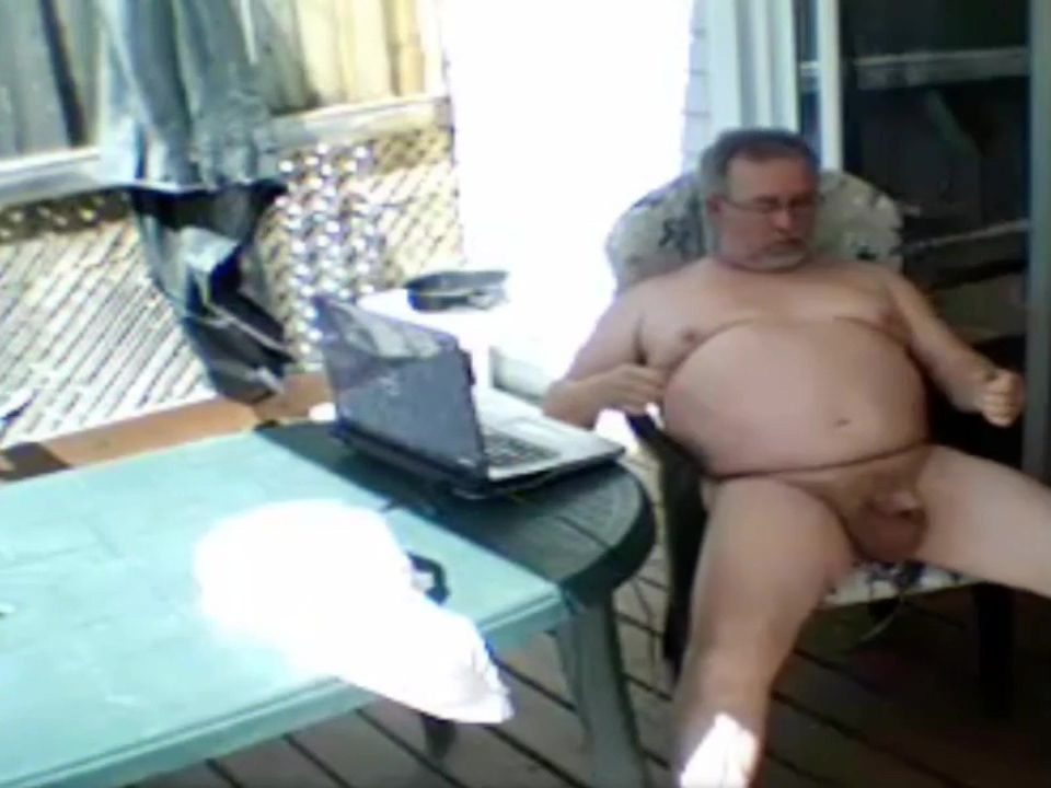 grandpa show at open air Amateur bbw anais