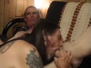 sucking off homeless biker Old mature gilf huge fake implant tits