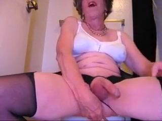 JOANNE SLAM - NASTY BRUNETTE GRANNY TRANNY what is mature age