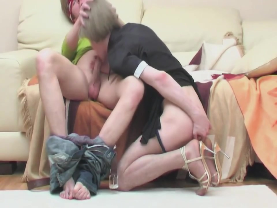 Russian maid dressed and was fucked. scene 2 woman and woman hot