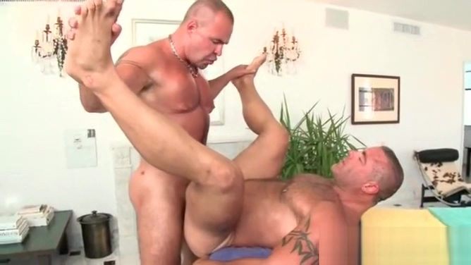 Straight stud having hardcore anal sex with his gay masseur Brazilian Booty Barter