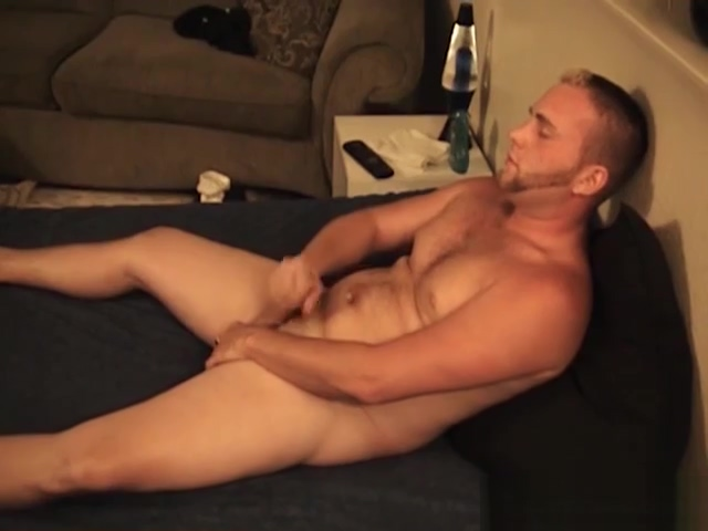 Hairy Amateur Keith Jacks Off Blondes Love The Cream Pie!