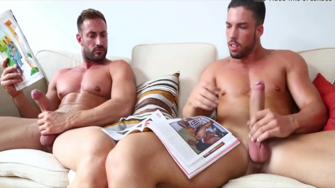 Emilio & Ronnie wanking off Natural tits milf ugly pov