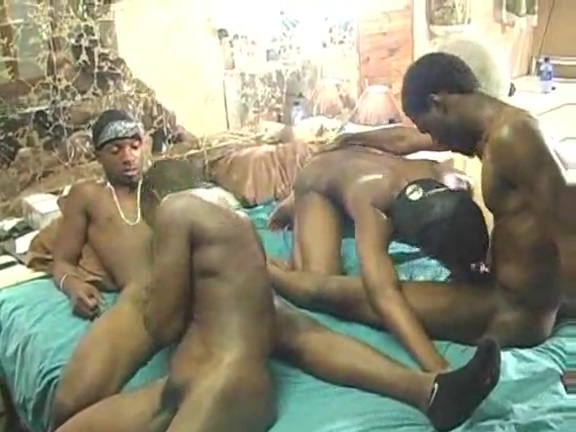 Black gay orgy at house Threesome bus