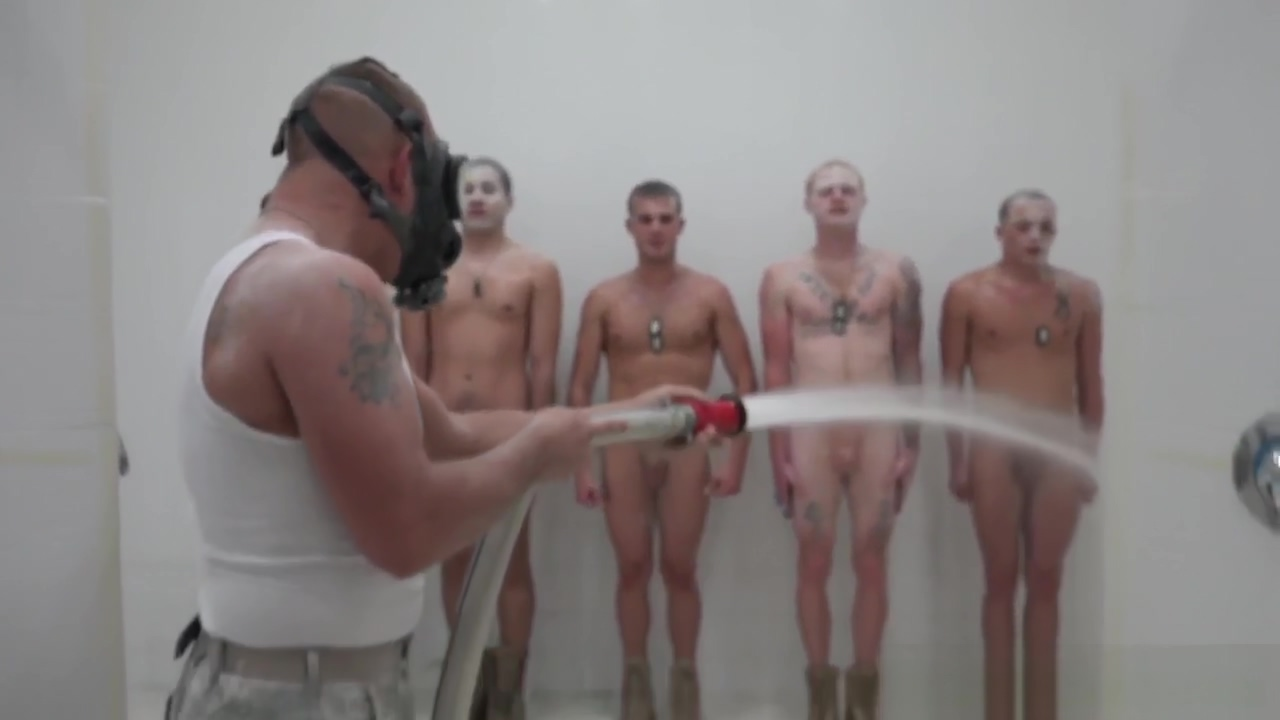 Military hunks assfuck in shower at hazing Hot uk naked women