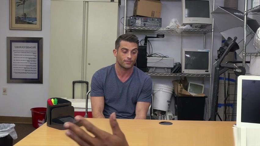 Horny white stud turns gay for anal pleasure Swiss gangbang