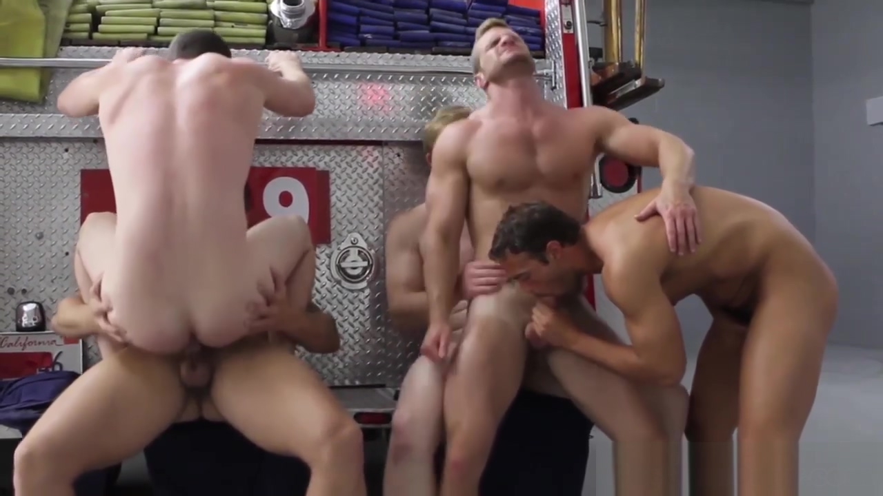Charlie Roberts ass fucked on fire truck Columbia tn time
