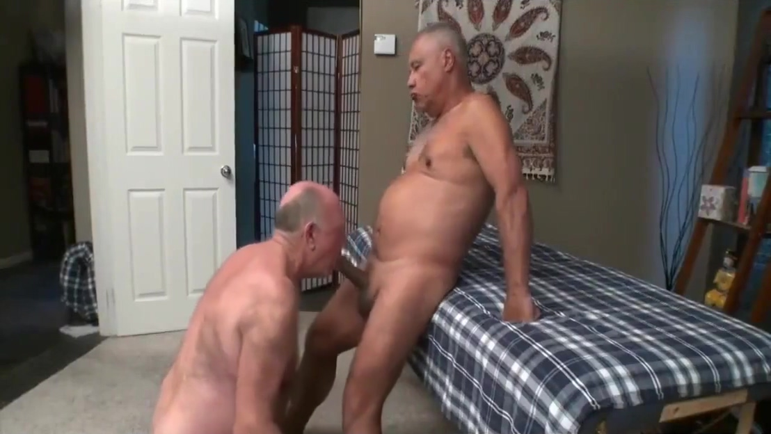 Sexy old men lt dangle gay kiss