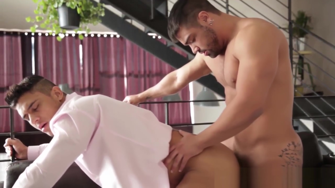 Muscular latino barista drills hunk in office lunch area pokemon girls black sex