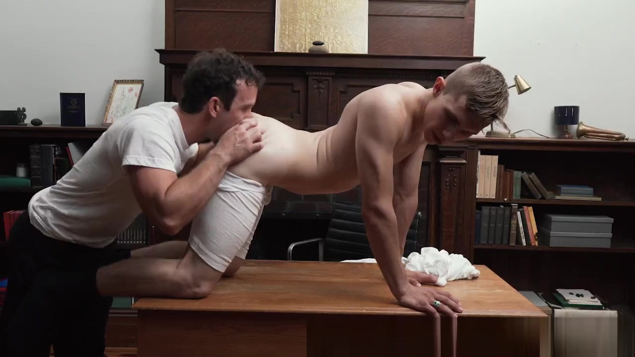 MissionaryBoyz - Church Boy Fucked By Bishop Hermione naked being cummed on