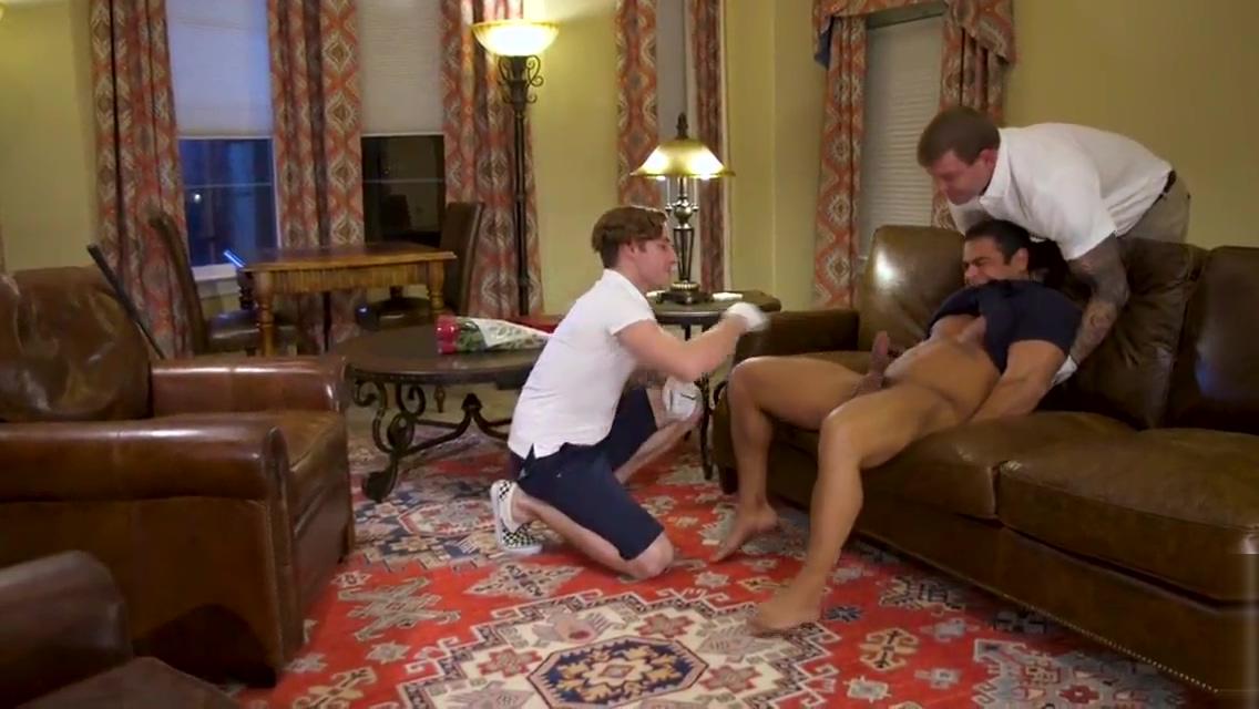 Valentine Visitors Steapdad and son Hot lesbian gets oral
