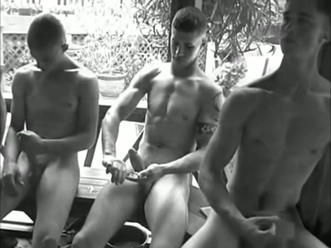 Garden collaborative jerking Teens moan with cum-hole licking