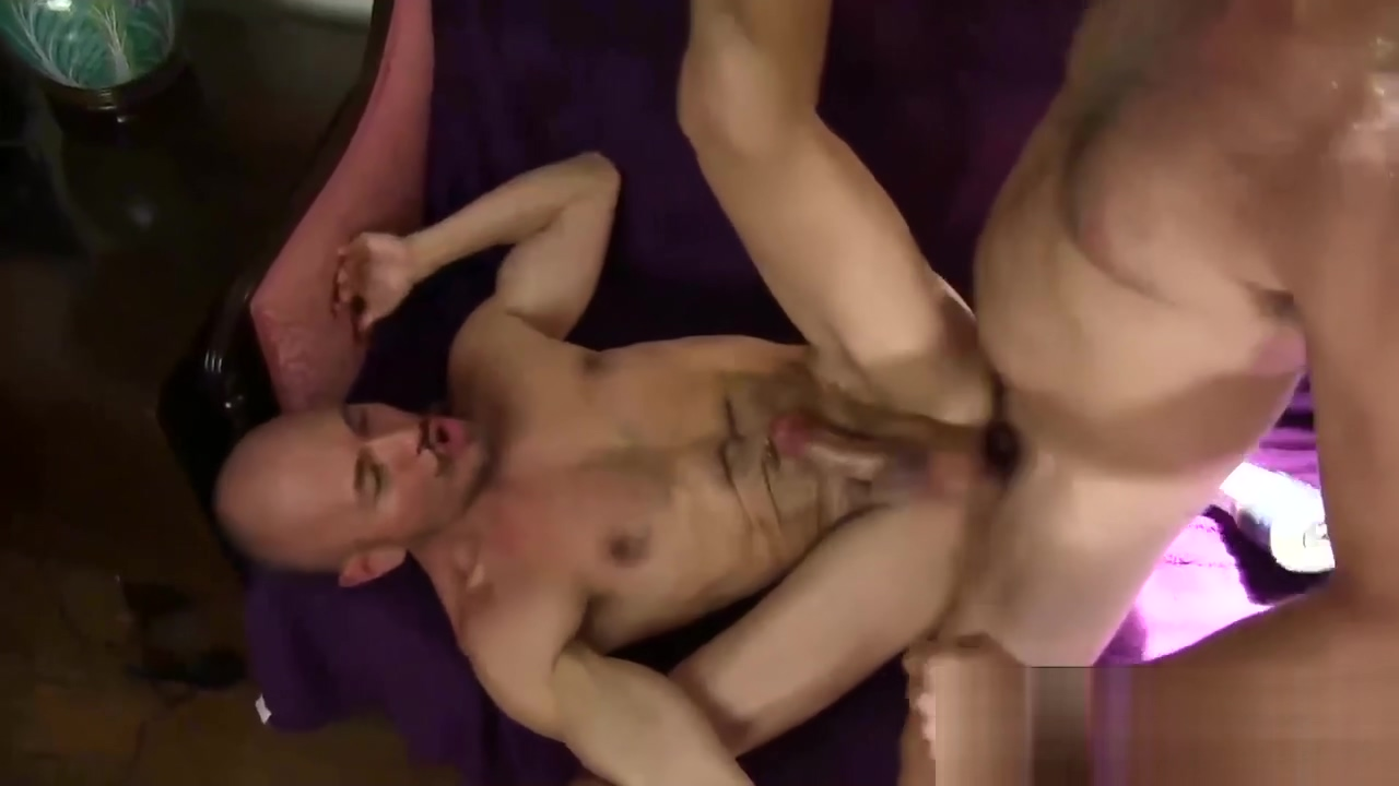 Two hairy daddies in hard anal action sexist video boy girl