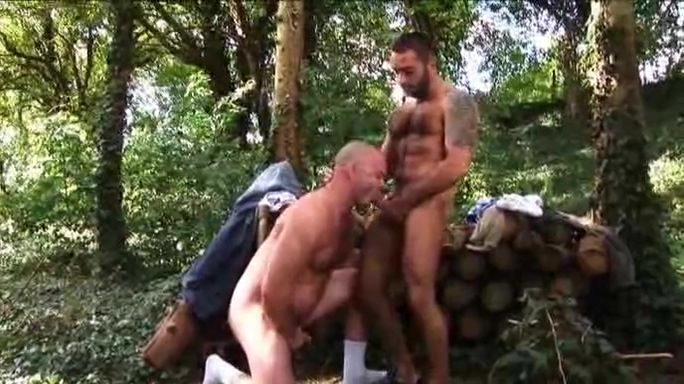 Loggers fuck in the woods Tube titty