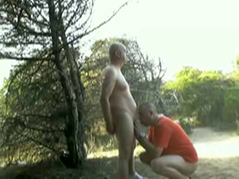 Sucking cocks outdoors Smart pic