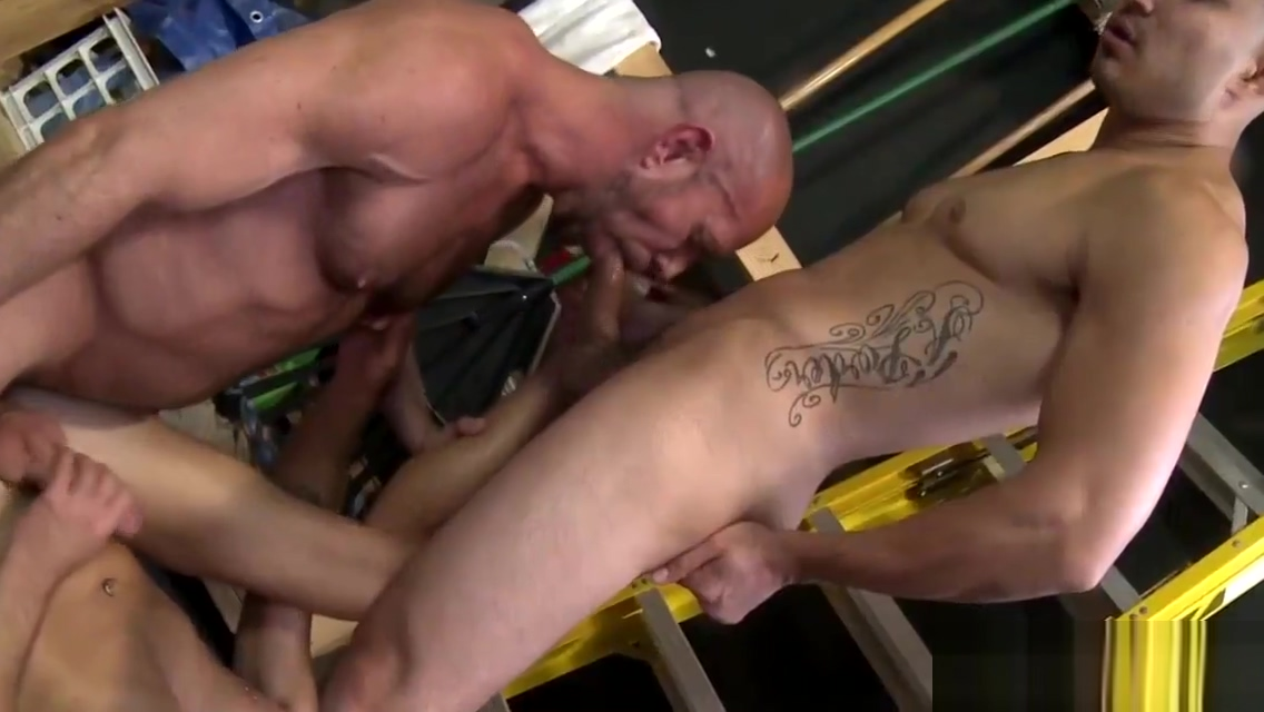 Gay hunks eating ass and 3way fucking Great spanking sex movies online