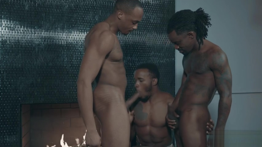 Big dick gay threesome with cumshot Mature adult voyerism