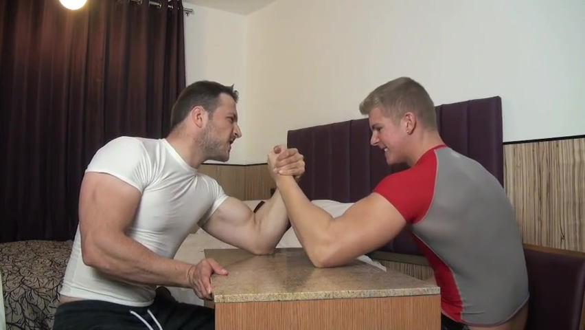 Muscle Gods Armwrestling and Flexing naked girls videos on tumblr