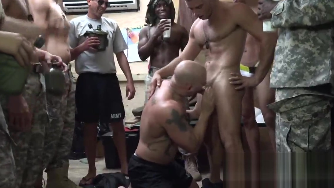 GAY gang bang in ARMY camp with HORNY SOLDIERS amateur naked women with muscles