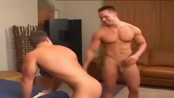 Workout Buds Giant black cock tears diminutive hole