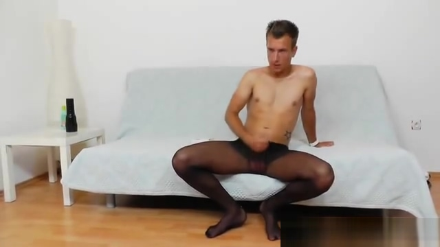 Gay dude masturbating in panty-hose big tit interracial anal porn