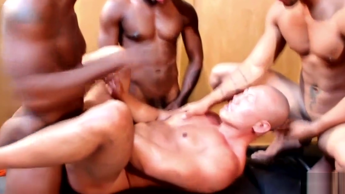 Asian jock spitroasted by black cocks Celeste Star Teen Hunter