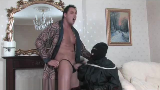 Hunky Marcello surprises burglar with his exploading big cock Top rated Japan xxx along superb Mari