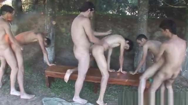 Group of friend meet up in woods Naked Gay Men Twerking