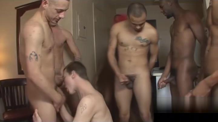 Crazy interracial gay cocksucking gangbang huge tits free porn tube