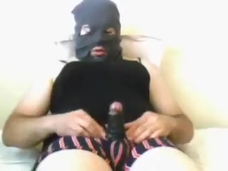 masked cumshot with homemade fleshlight 1 How to tell a man what you want