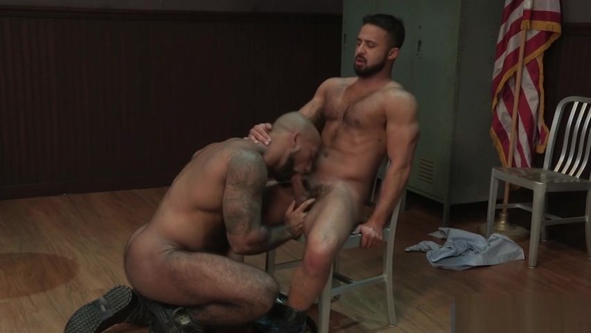 Handsome Daymin Voss and Eager Damian Taylor cant get their Mouths off Each Other fine black girls fucking hard