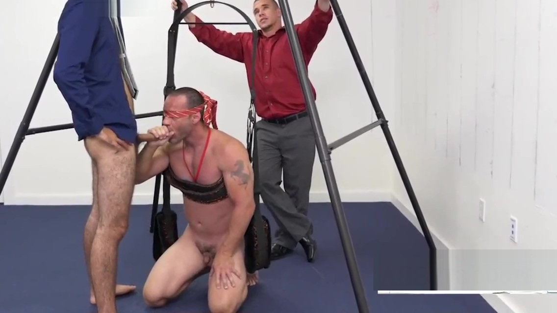 Blindfolded gay ass grabber in swing Busty blonde blowjob Matures porn