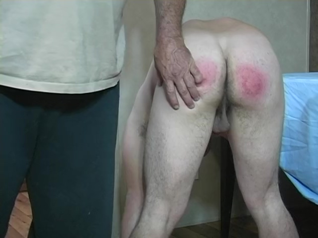 straight twink gets real spanking then jacks off Me and my girlfriend