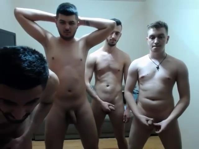 4 uncut Romanian guys jerk on Chaturbate - 4starsboys Black fat slut woman