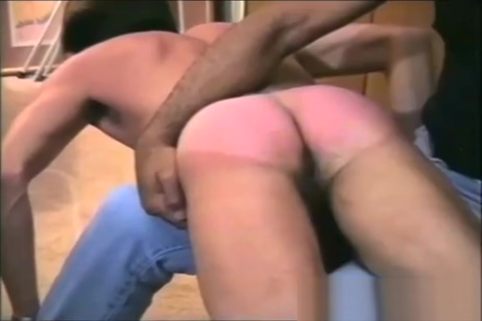 Black Master Spanks White Boy Nasty first anal