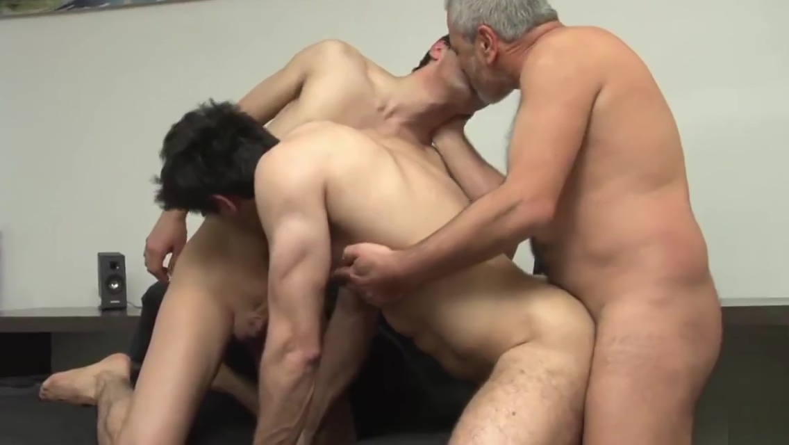Two Hunks and Daddy (Older4Me) On her knees porn pictures