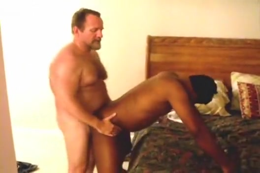 Dad Ken Pounds a smooth ebon bottom dude mom jacks sons penis