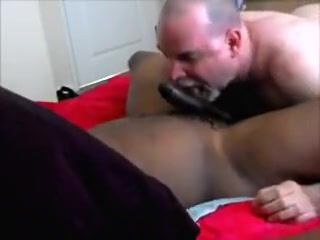 Go to work! Make that ding-dong come! Redhead Mama Esmeralda Sauced With Big Black Cock