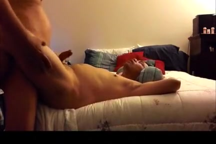 Bred large dong lad wifey cum shot xhamster
