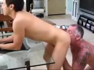 Muscle man and His Latino Lover 3 Teasing Handjob With Ruined Orgasm