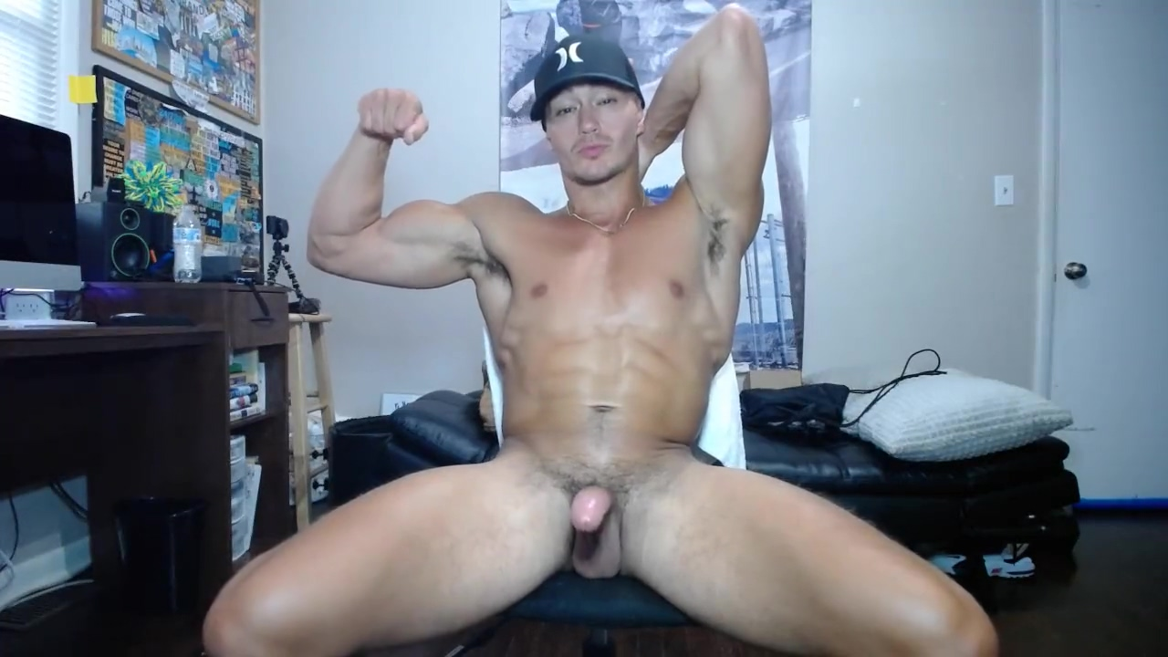 muscle stud strokes big dick milf fuck monster cuban cock slutload