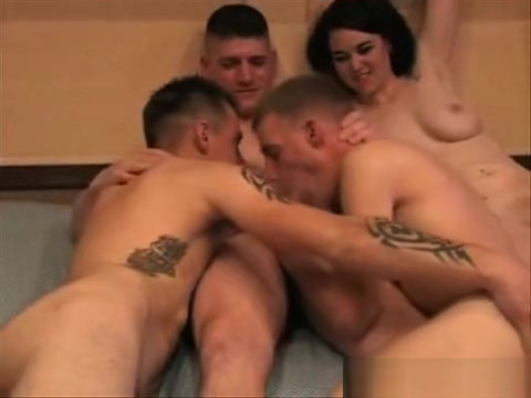 3 Soldiers and a Woman in the Barracks Amat mature fuck films