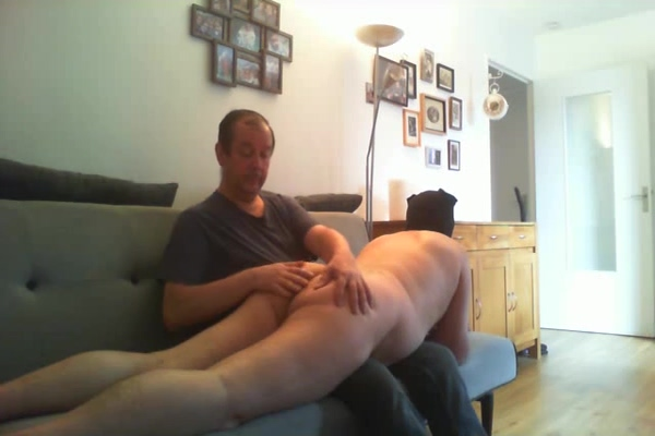 Session with hommesoumis75 (Part 2) Sandy sucking spongebobs dick