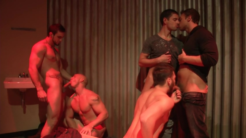Epic Gangbang caught wanking by stepmom