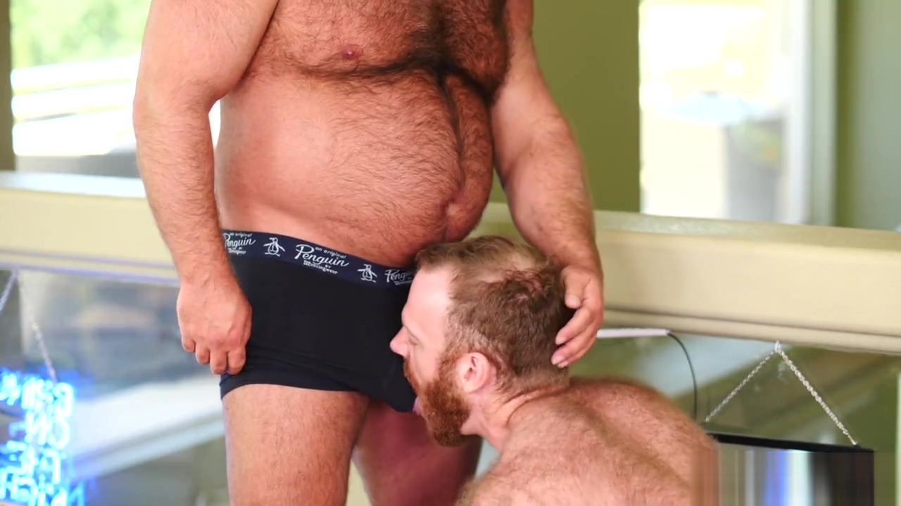 Bears - Brad Kalvo and Russell Tyler Blondes in nylons