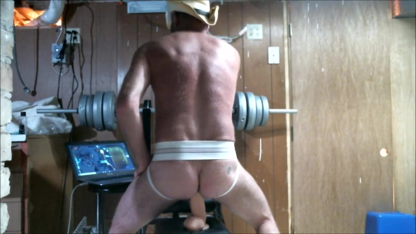 Cowboy Daddy rides some big toys showing media posts for huge ass anal xxx 1