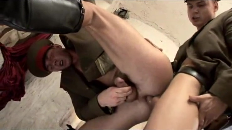 Two Russian soldiers have passionate sex. claudia christian porn