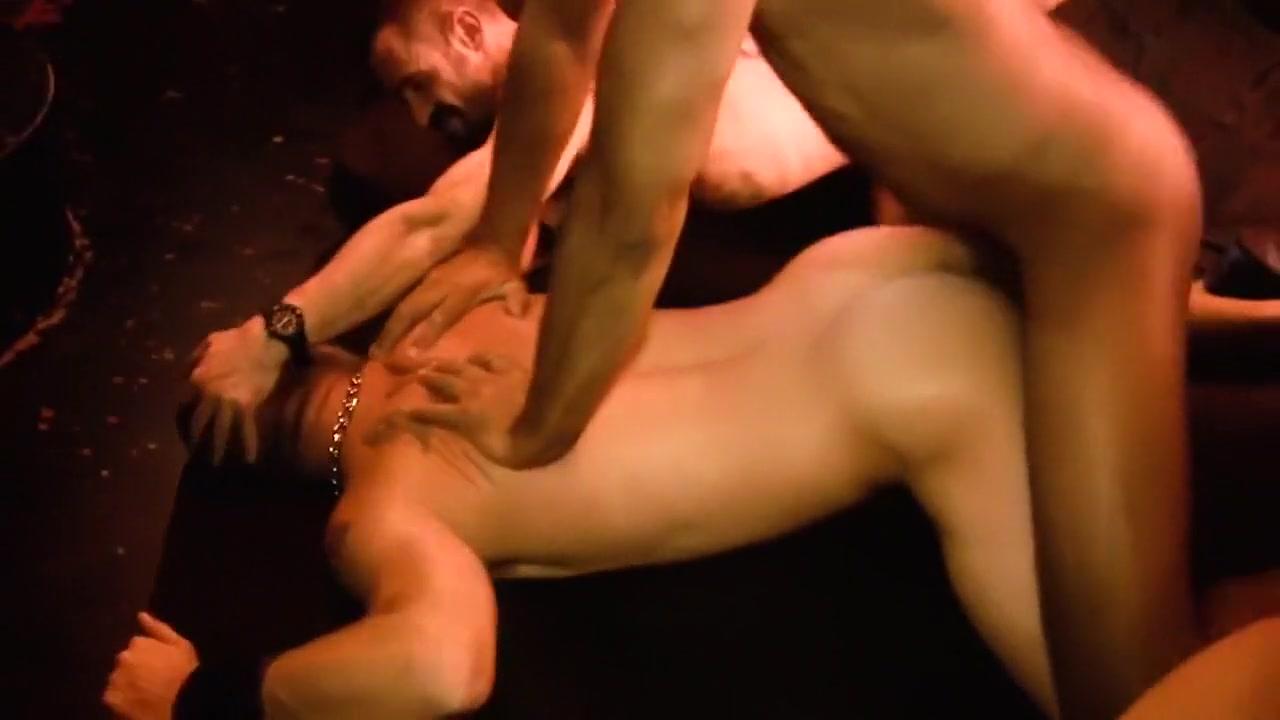 Bareback Orgy scene 3 Redhead yummy masturbate